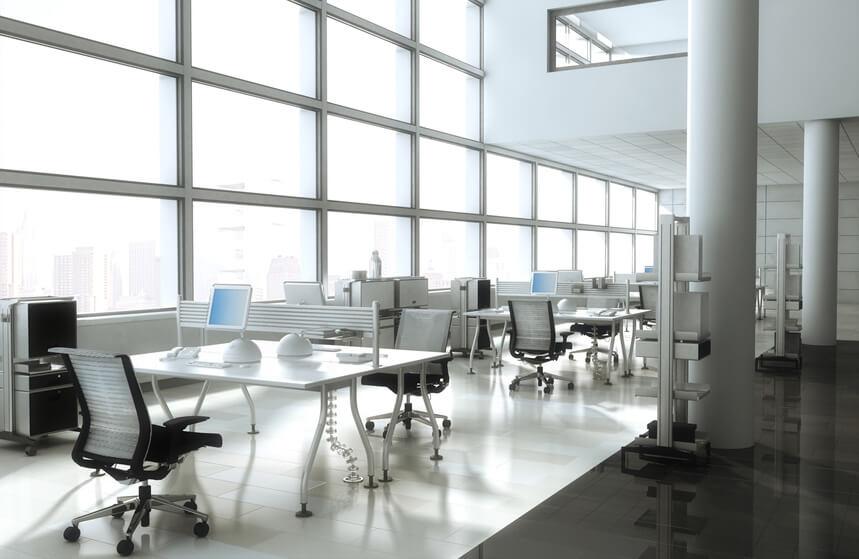 Aménagement de bureau : le modernisme est à l'honneur